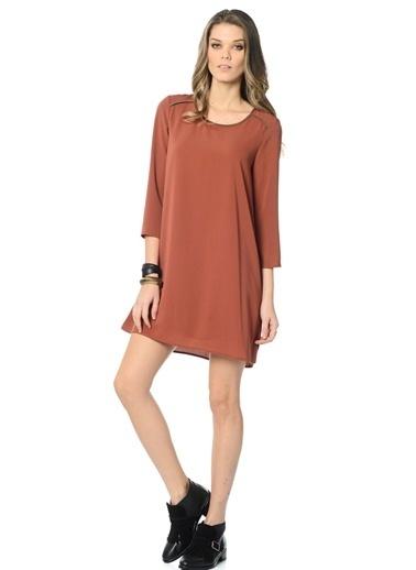 Uzun Kollu Elbise-Vero Moda